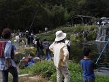 釣り真最中