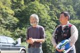 伊藤オーナーと太田支部長。
